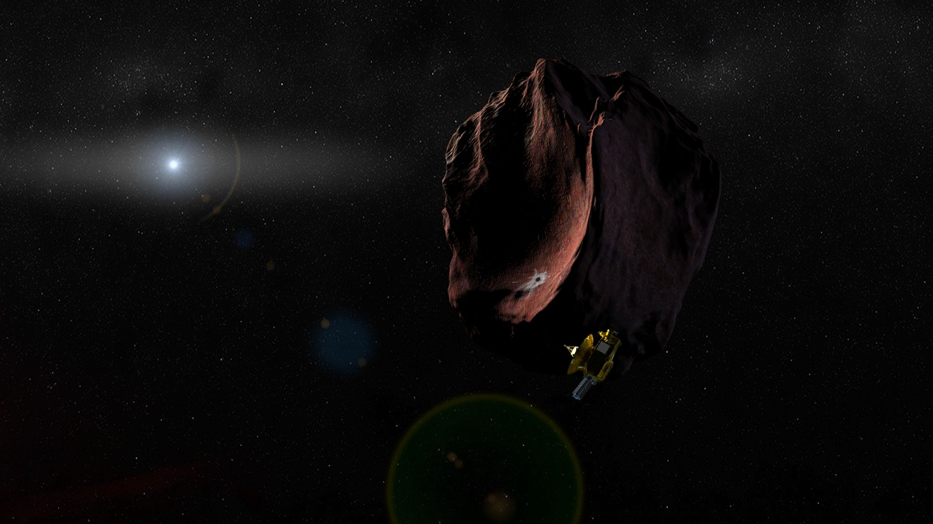 New Horizons Kuiper Belt