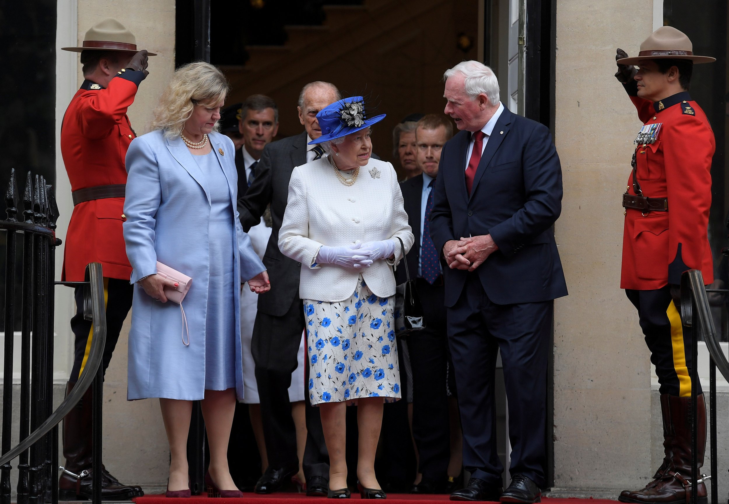 Queen Elizabeth Canada