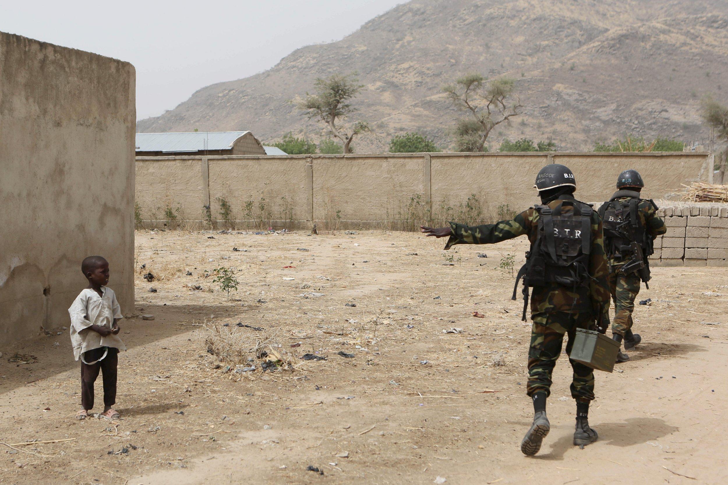 Cameroon BIR soldiers