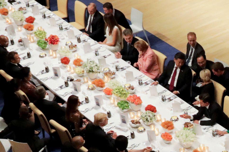 Trump Putin G20 dinner