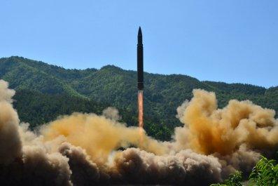 ICBM launch
