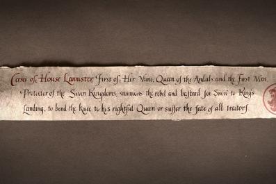 Game of Thrones - Cersei summons Jon Snow