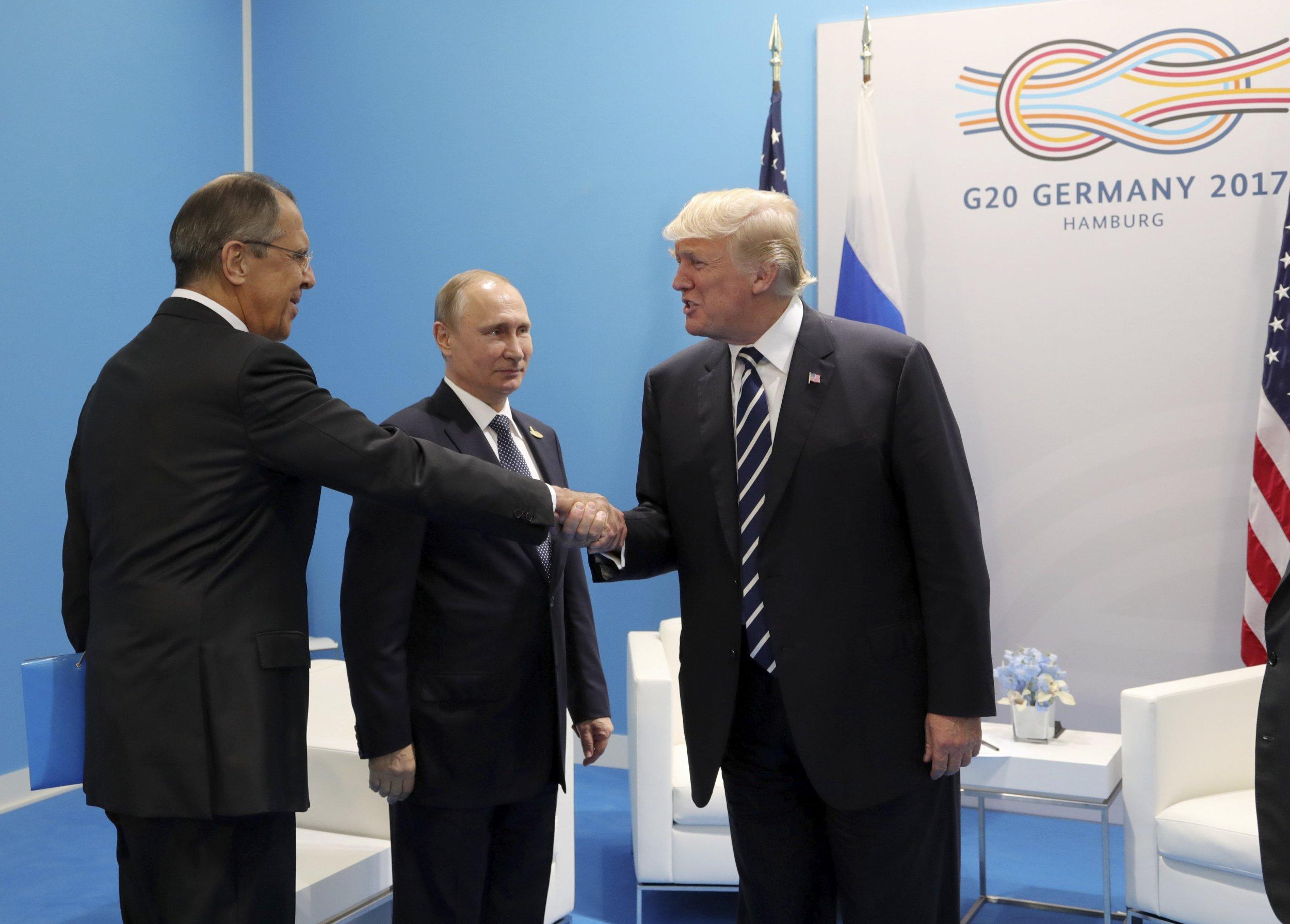 Putin, Trump and Lavrov