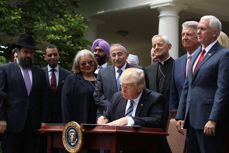 Trump religious liberty
