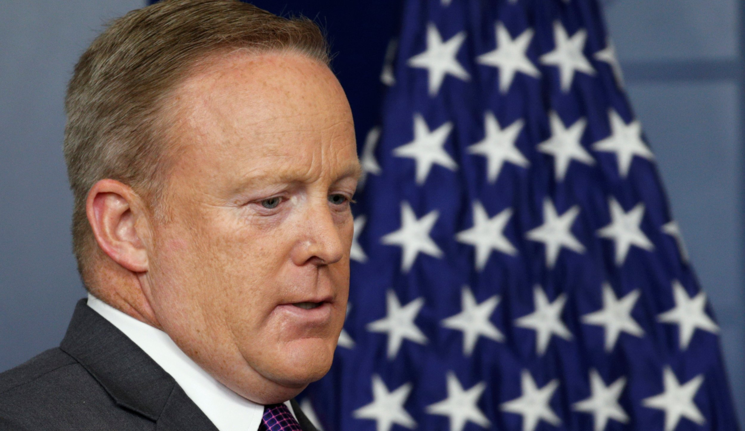 Sean Spicer resigned—here are five of his worst moments in the White House