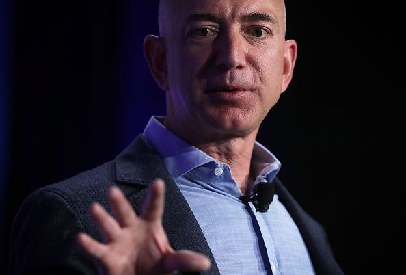 Robot Dogs Are A Thing Jeff Bezos Takes One For A Walk