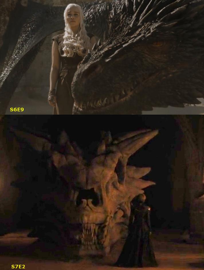 Drogon vs Balerion