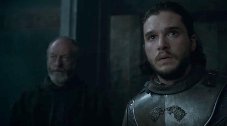 Game of Thrones - Jon Snow meets Daenerys