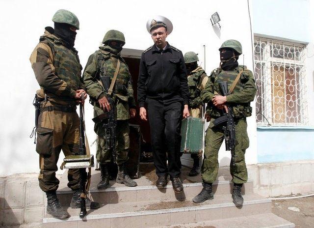 Ukraine's navy in Sevastopol