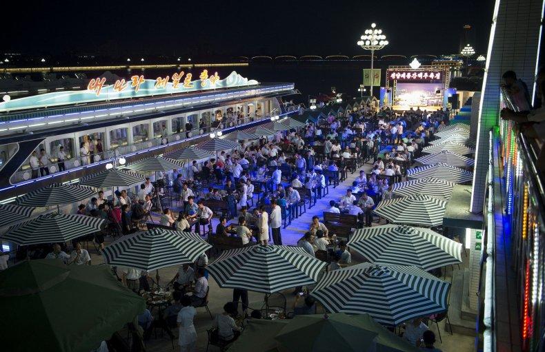 Pyongyang beer festival