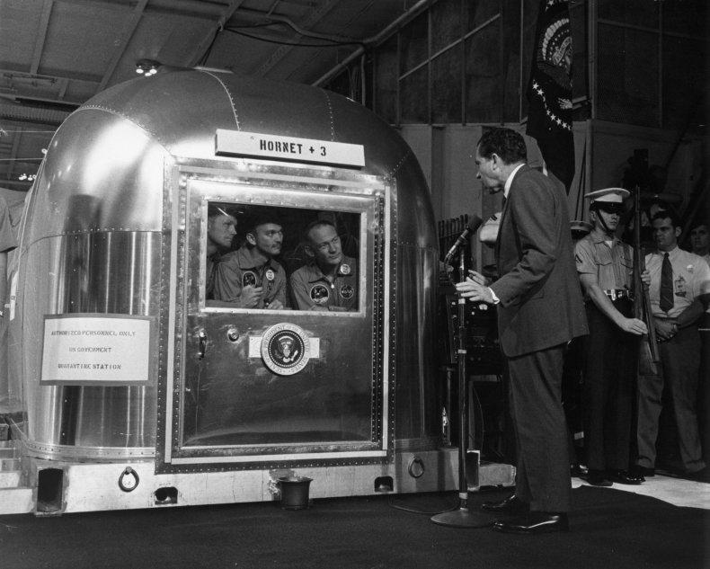 Nixon astronauts