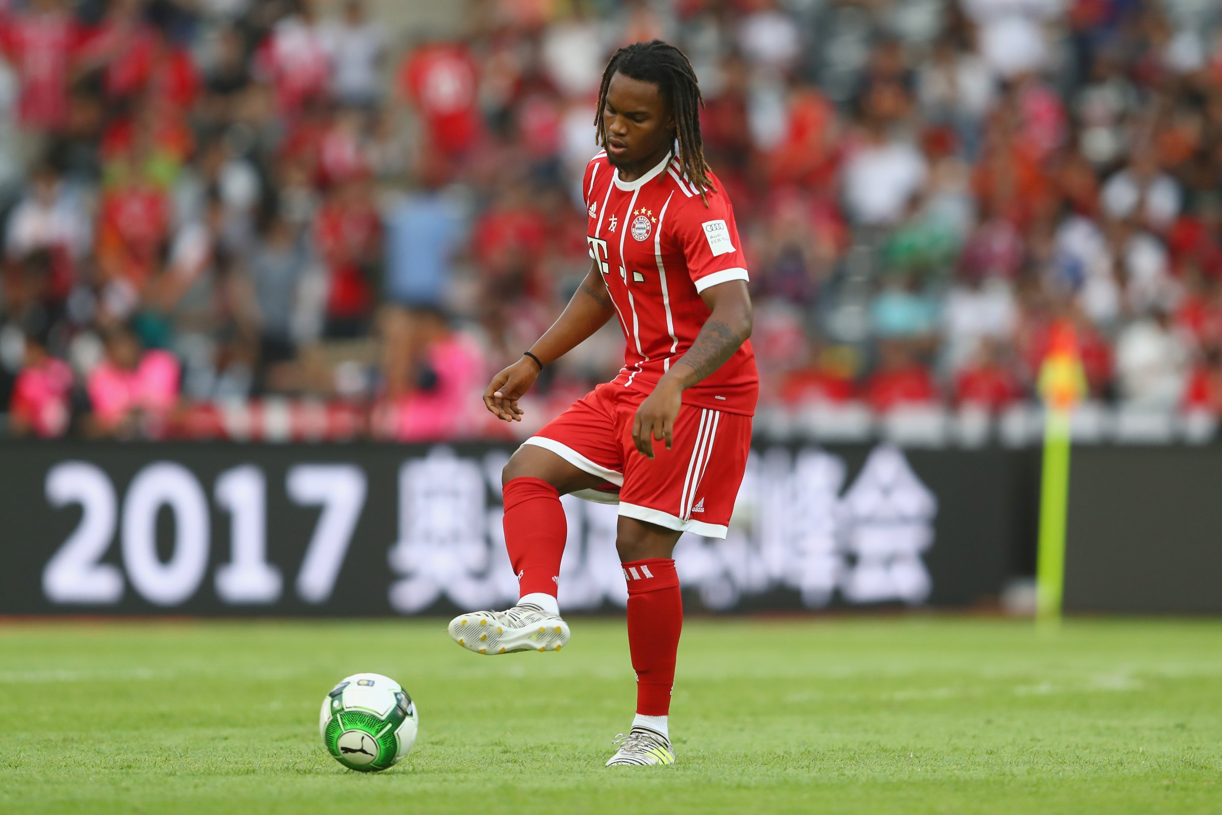 Bayern Munich midfielder Renato Sanches.