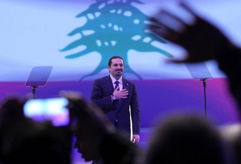 Lebanese Prime Minister Saad Hariri
