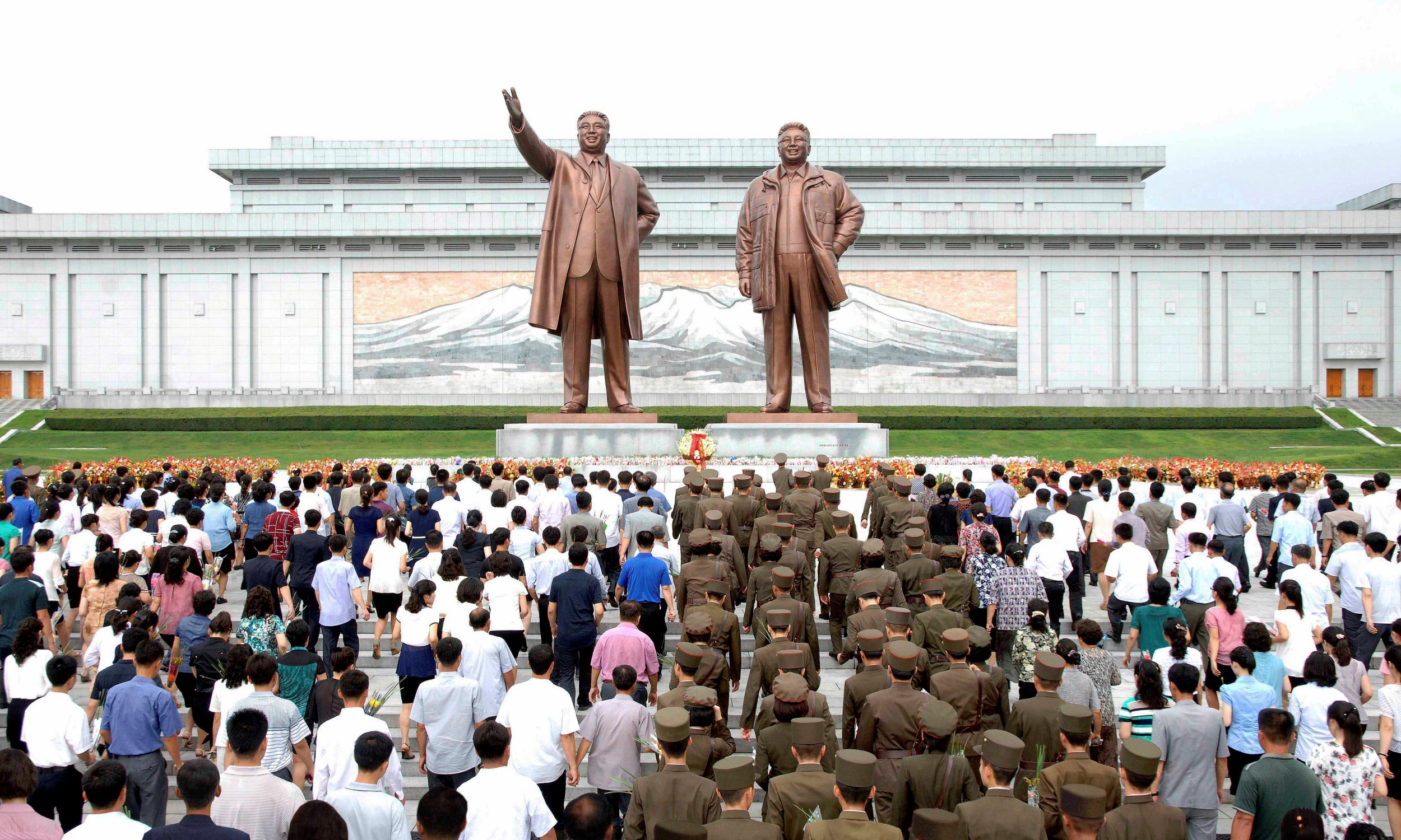 North korea how kim jong uns family was picked by russia to lead 23rd anniversary of demise of kim il sung thecheapjerseys Choice Image
