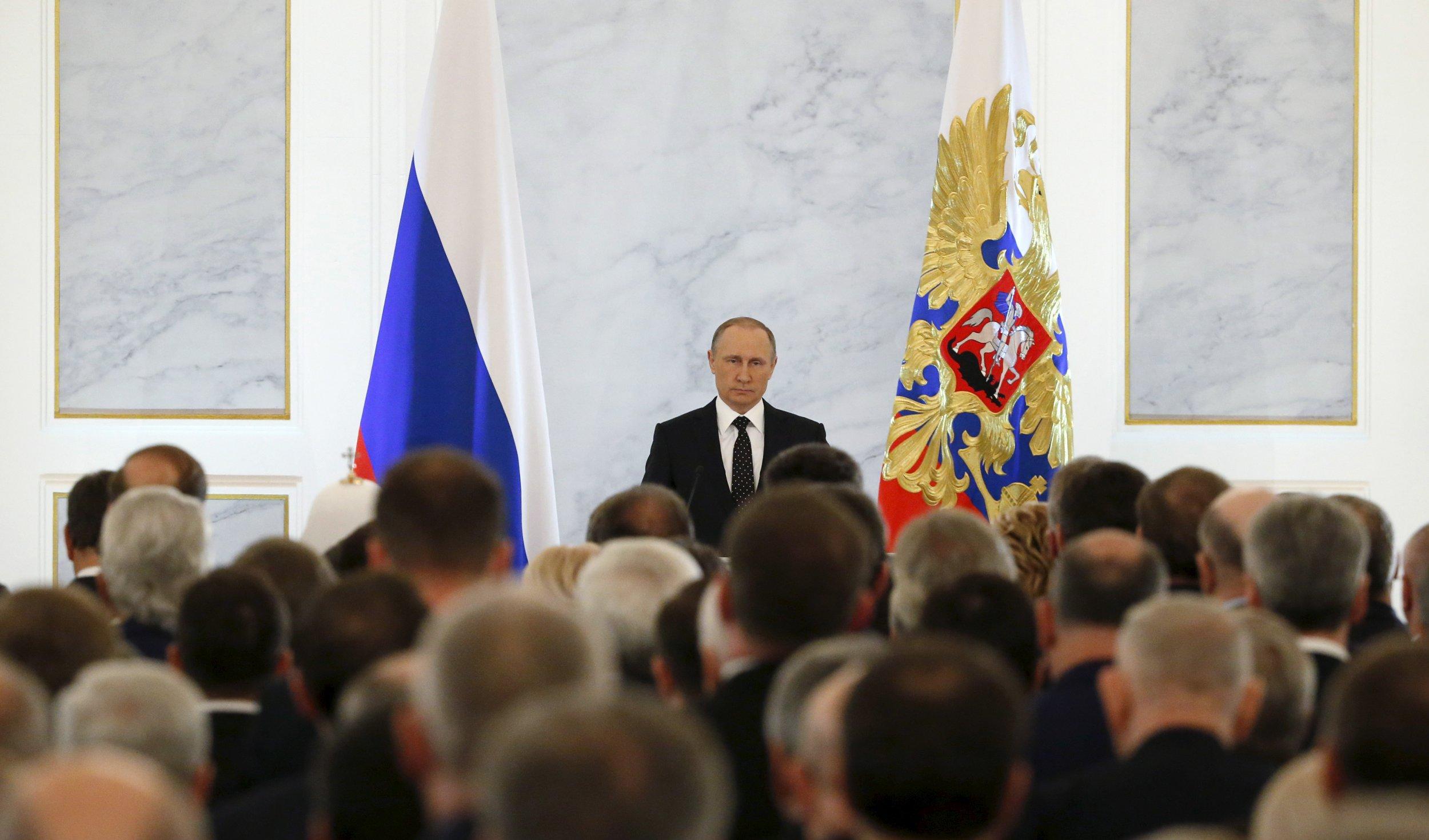 Putin ans lawmakers
