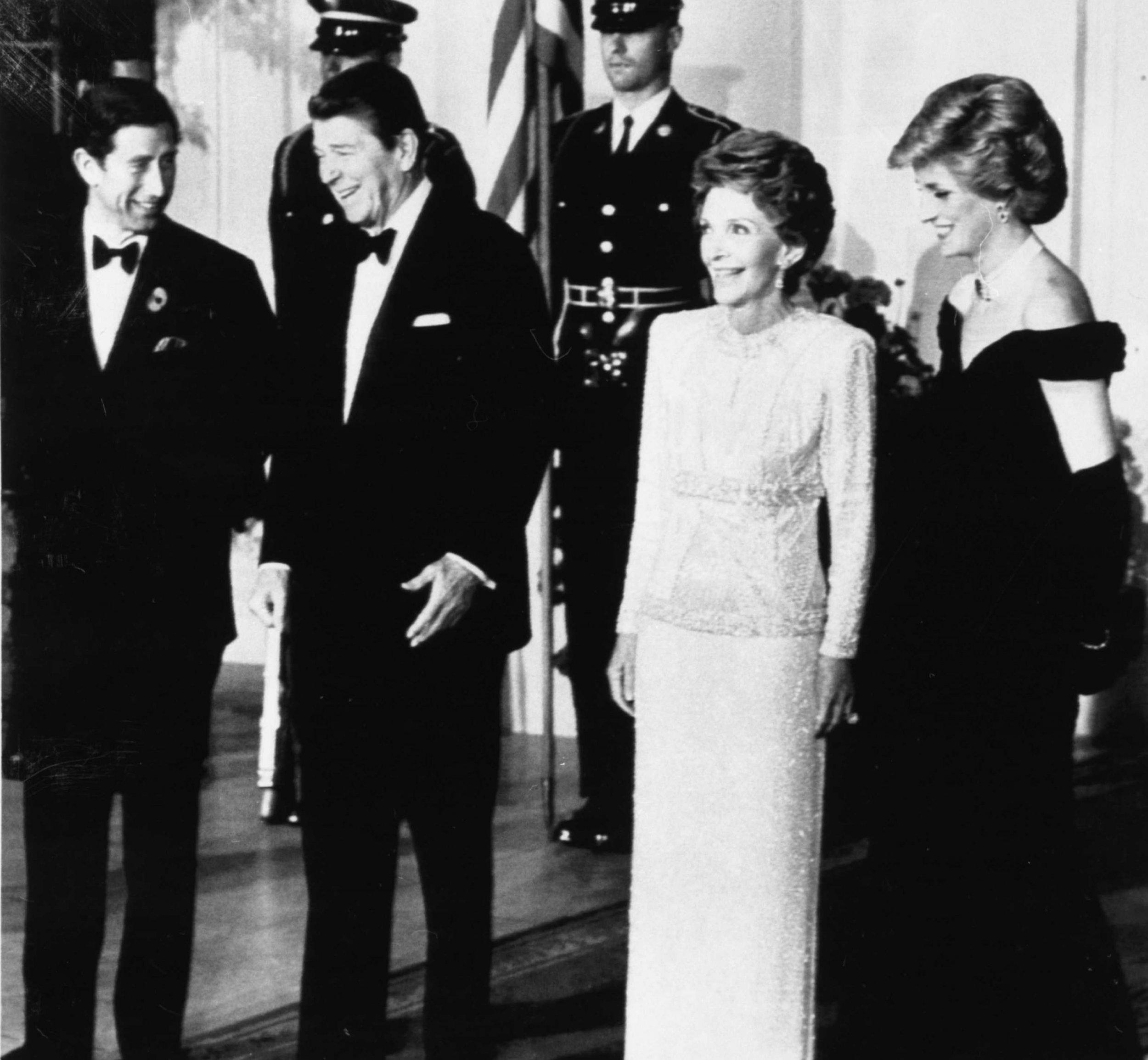 Nancy Reagan and Princess Diana
