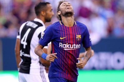 Barcelona forward Neymar.