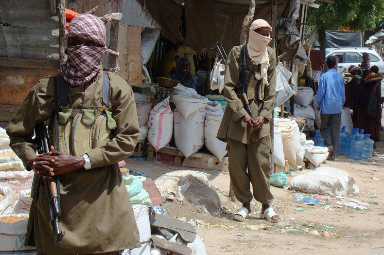 Al-Shabab militants
