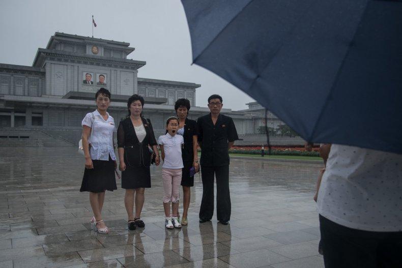 Rainy Pyongyang