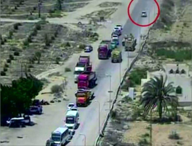 Egypt car bomb 1