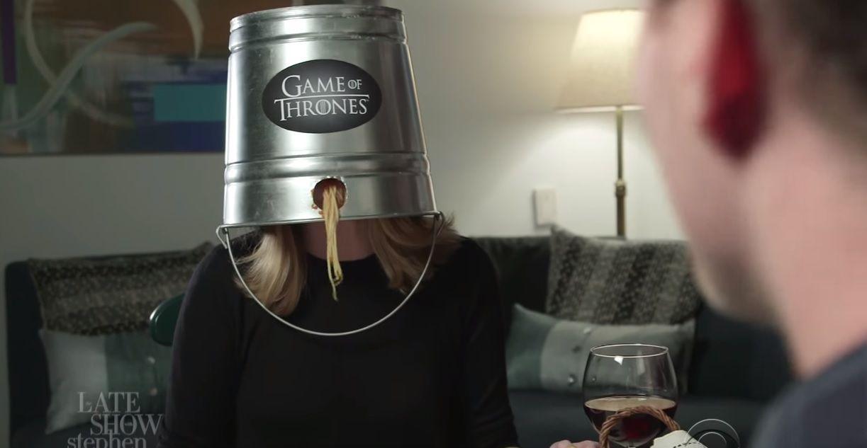 Game of Thrones spoiler-proof bucket