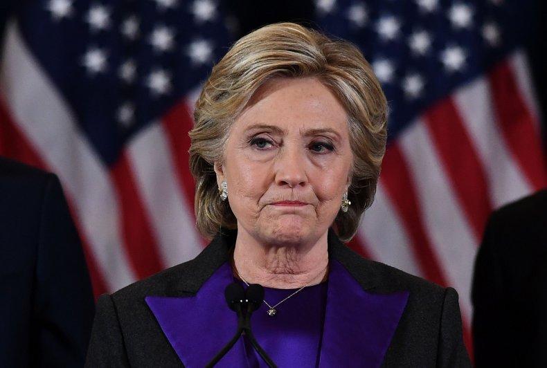 Hillary concession