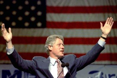Clinton at Rally