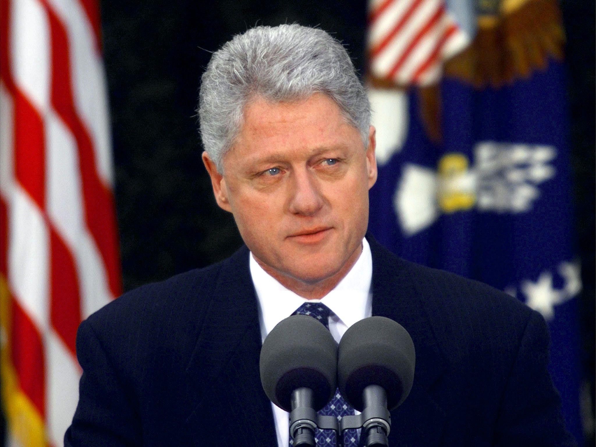 Clinton Addresses Nation