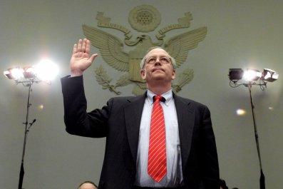 Kenneth Starr Sworn In