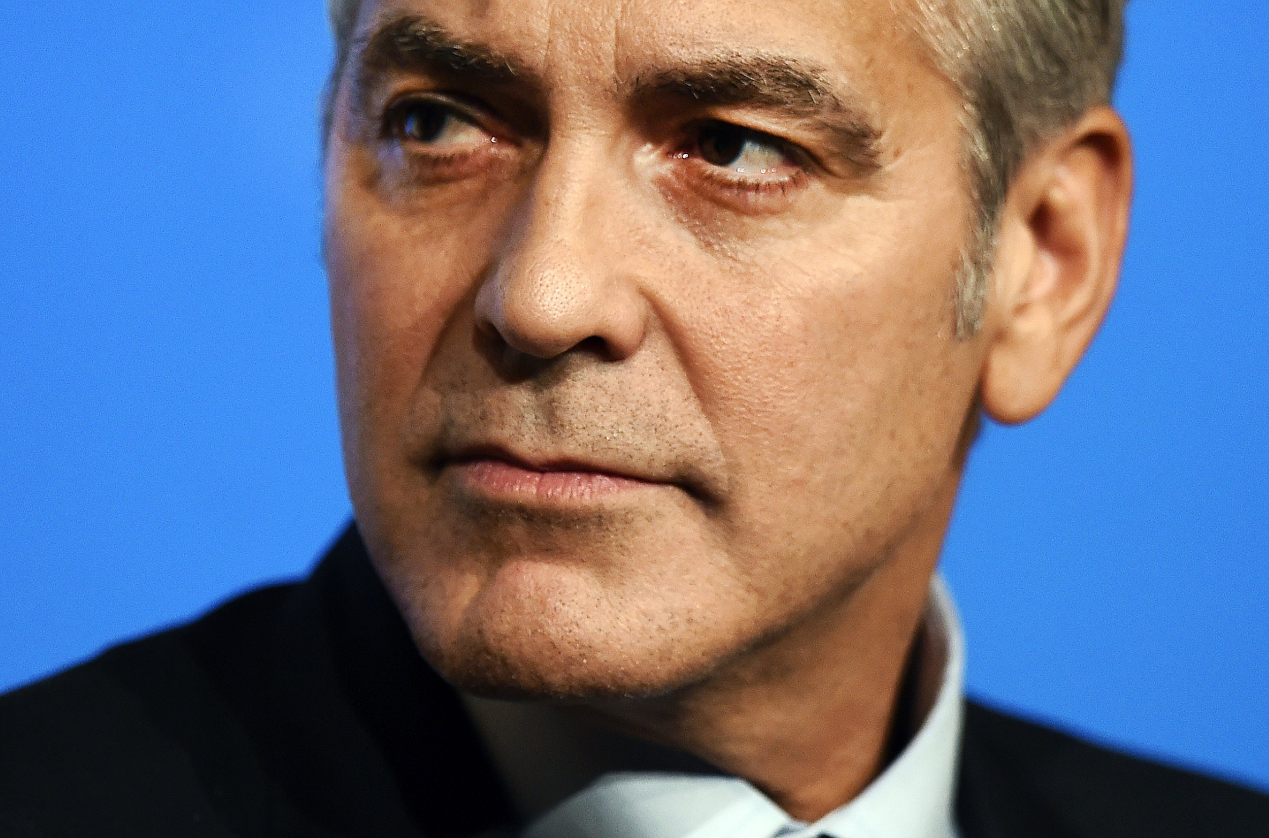 George Clooney, the most beautiful man?