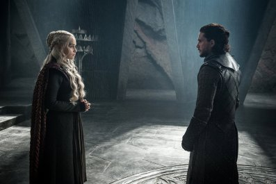 Jon Snow and Daenerys meet
