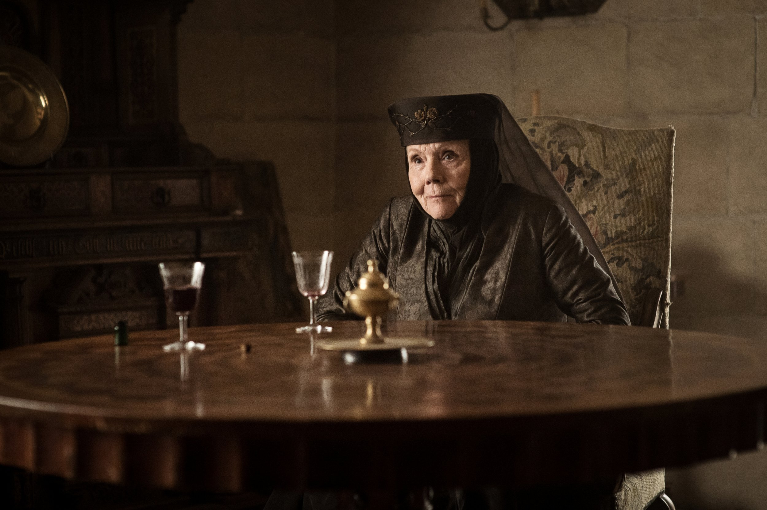 Lady Olenna Tyrell in Game of Thrones