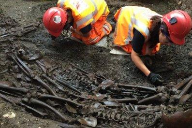 excavation of bedlam burial ground