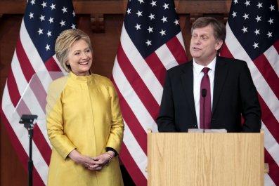 McFaul and Clinton