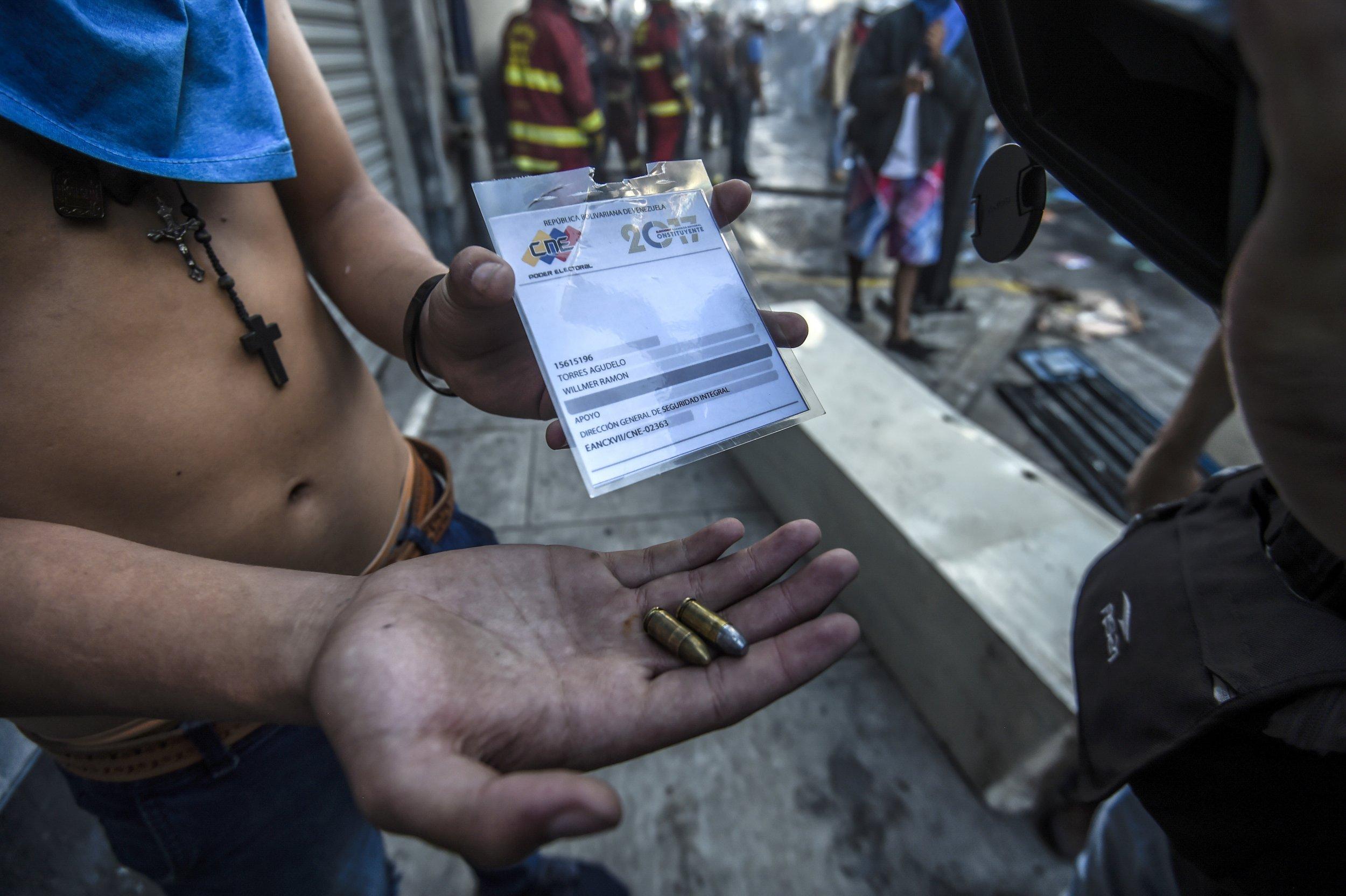 Venezuela Protests vote