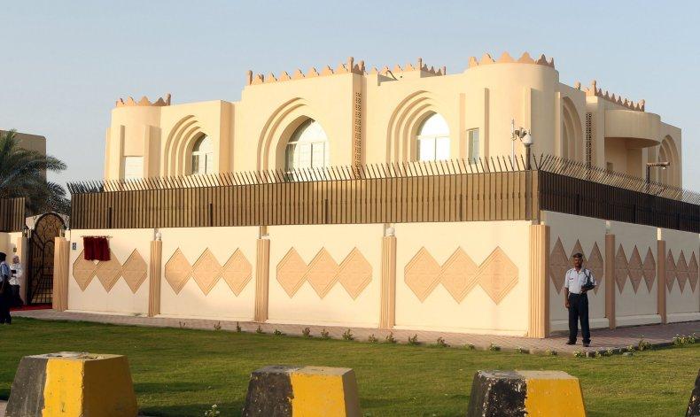 Taliban embassy in Doha