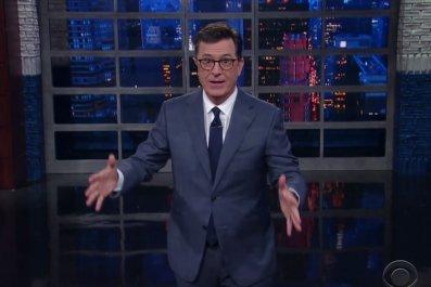 Stephen Colbert jokes about Scaramucci