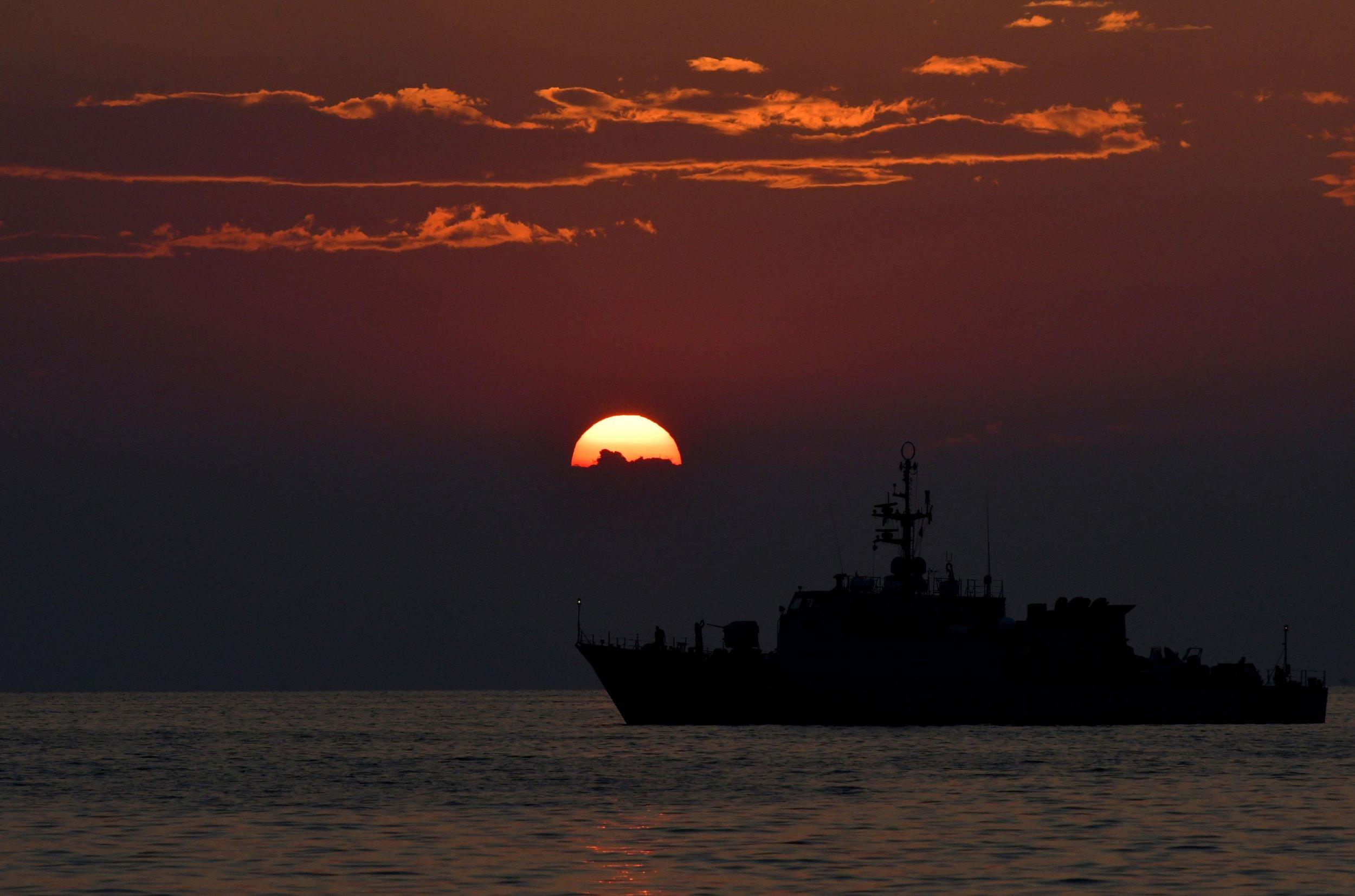 Italian vessel in the Mediterranean