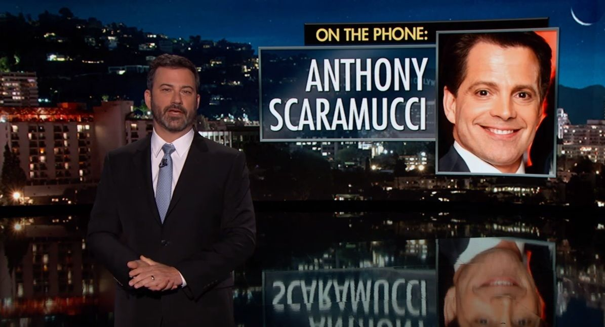 Jimmy Kimmel interviews The Mooch