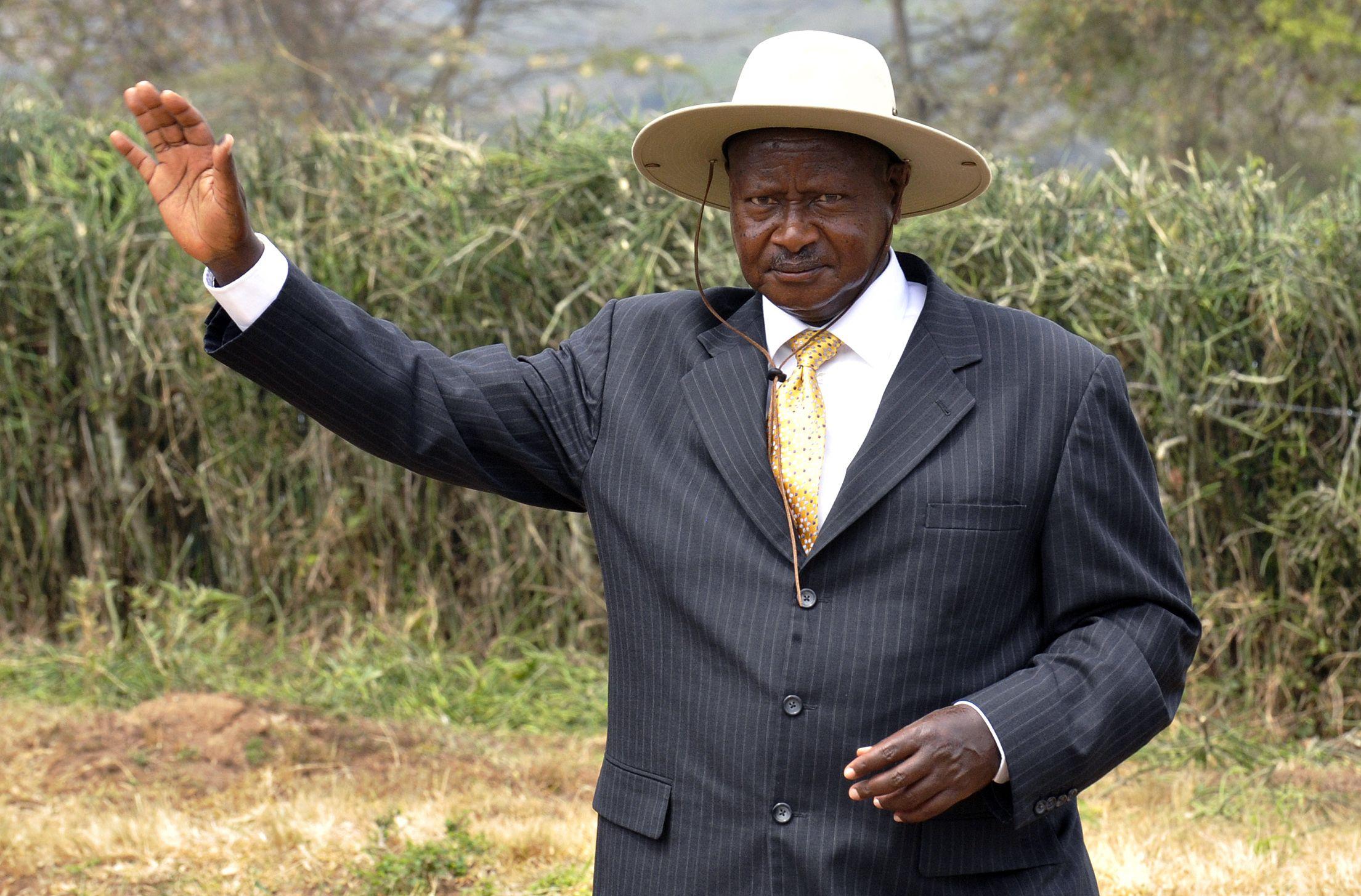 Museveni in 2011
