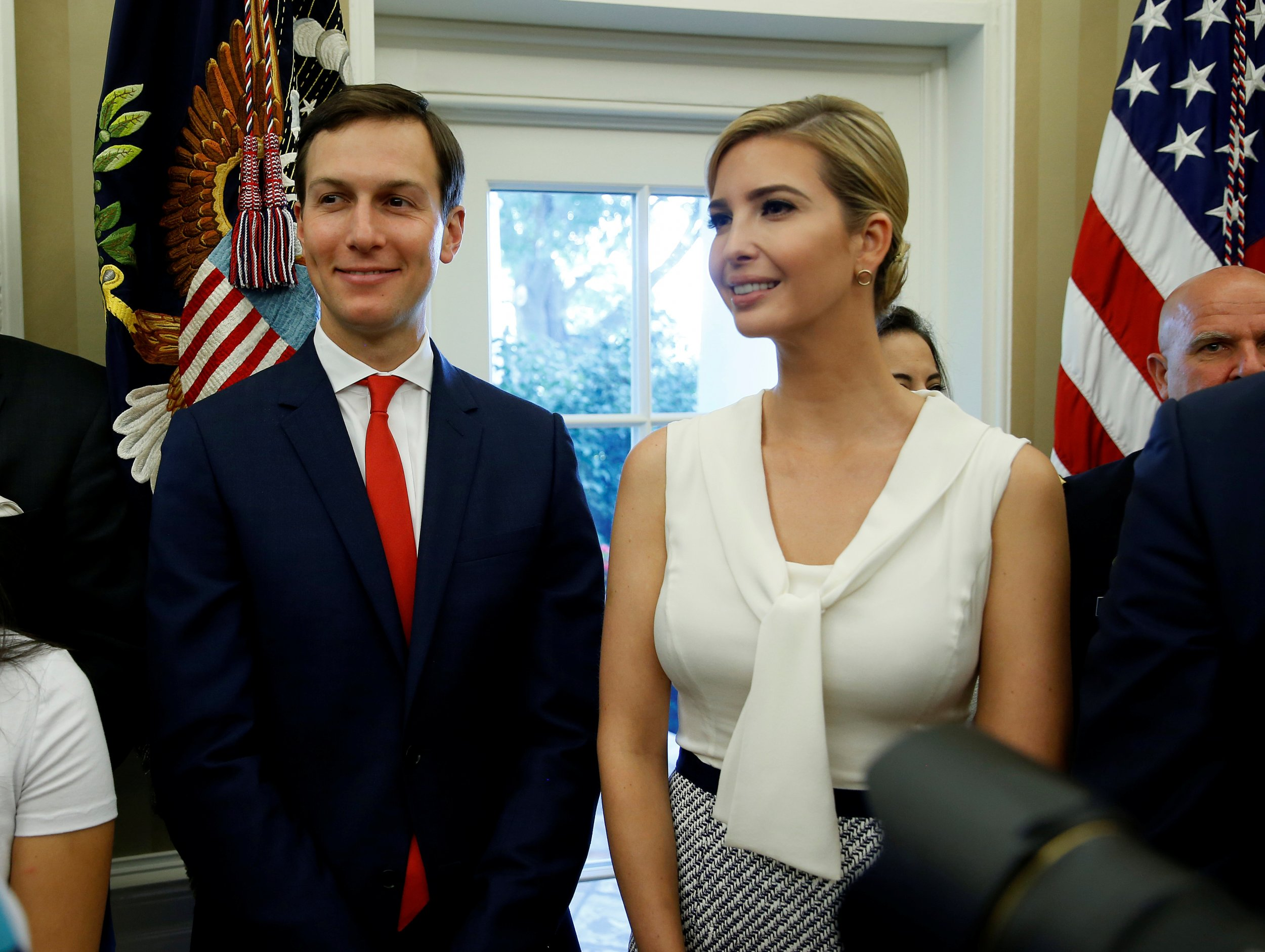 Kushner and Ivanka Trump