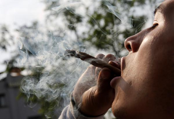 Chronic marijuana users don't stress out as easily as people who don't use marijuana, study says.