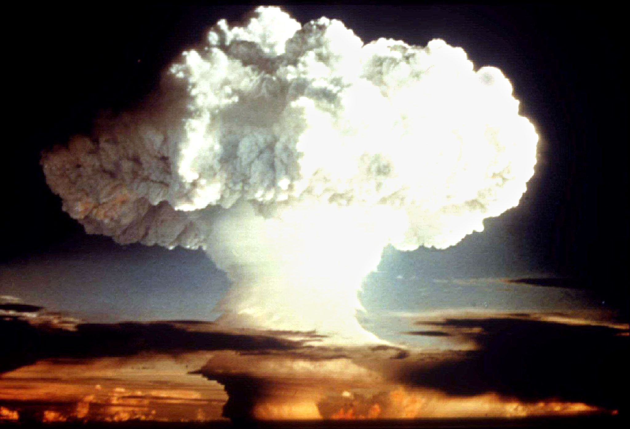 Nuclear test explosion
