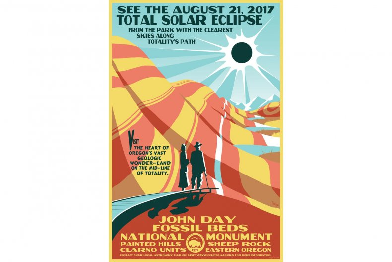 8-1-17 Eclipse Poster John Day Fossil Beds (1)