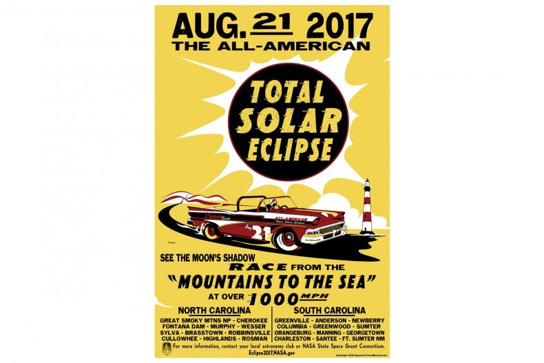 8-1-17 Eclipse Poster North and South Carolina (1)