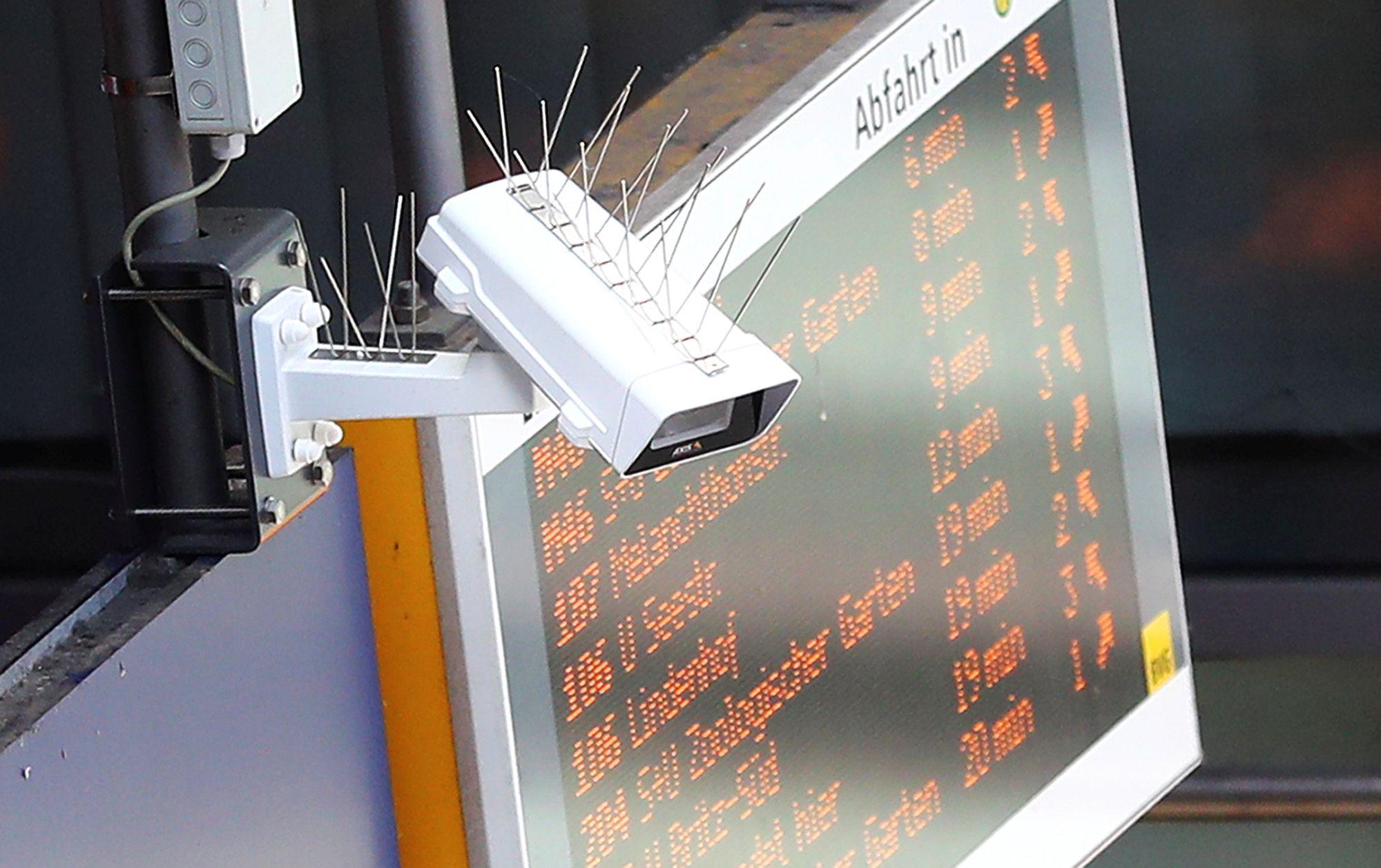 Berlin station cameras