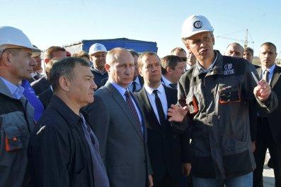Putin and Rotenberg