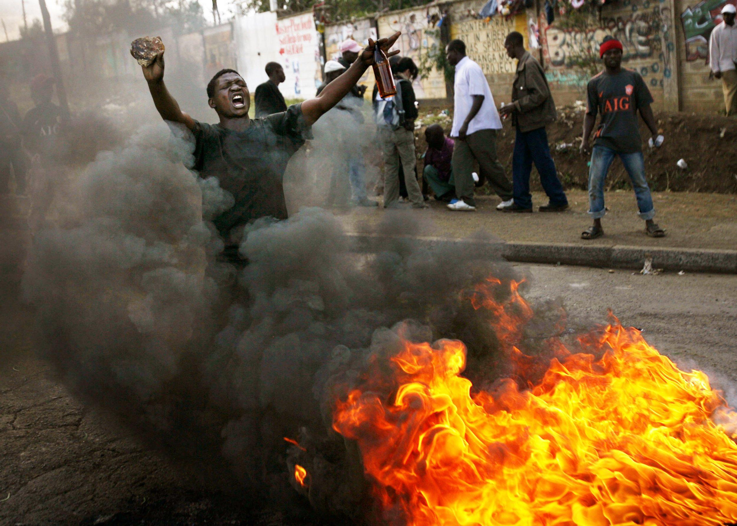 Kenya 2007 election protest
