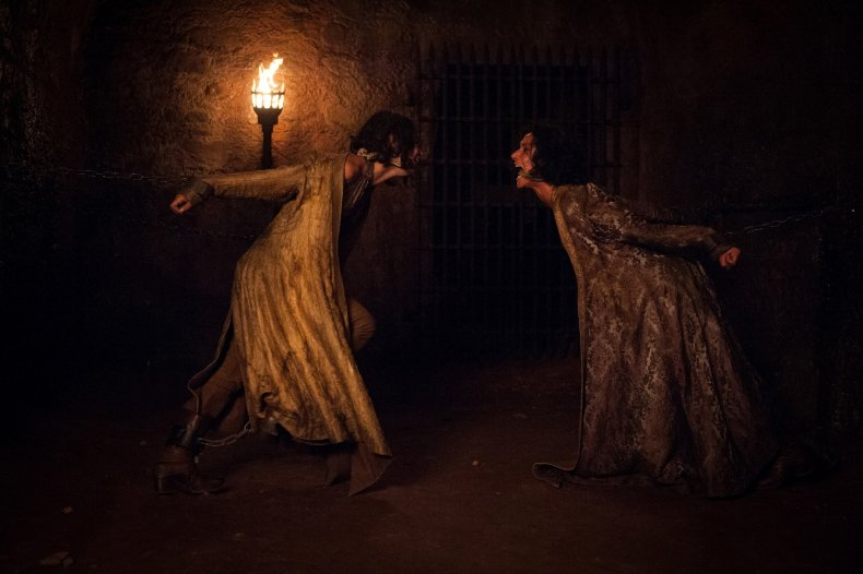 Game of Thrones - Ellaria and Tyene chained