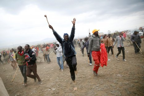 Kenya opposition supporters